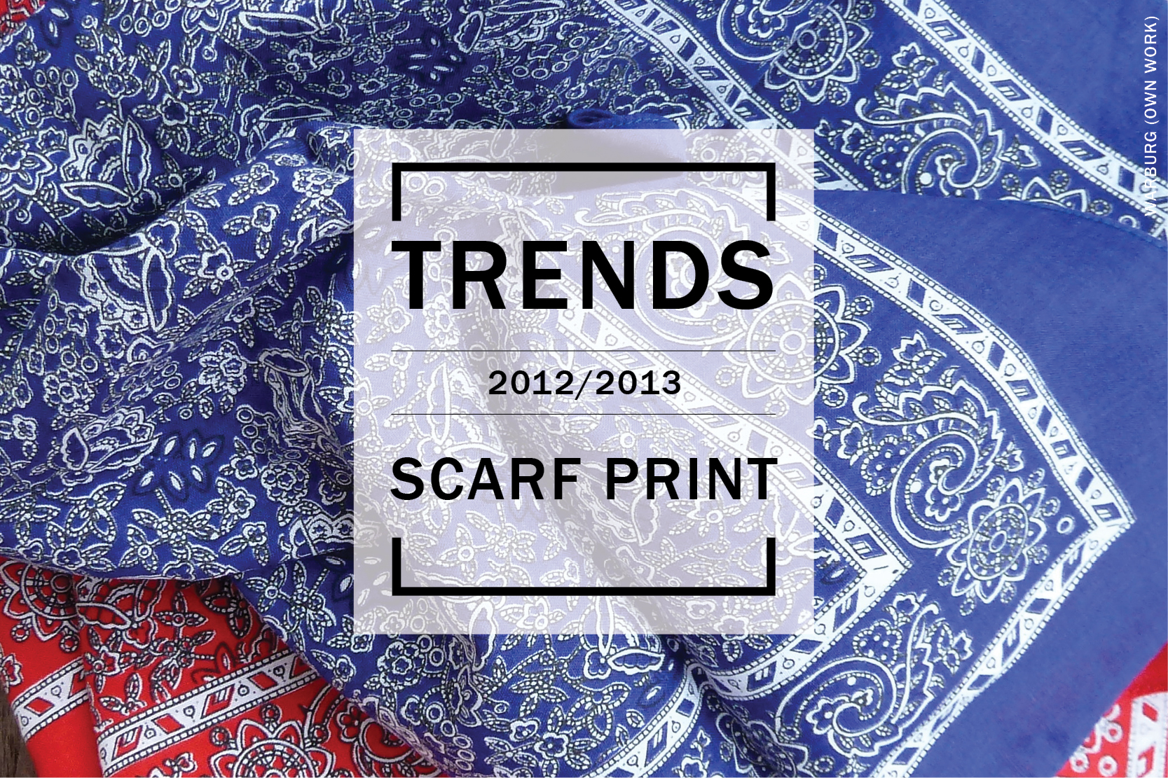 Trends - Scarf print