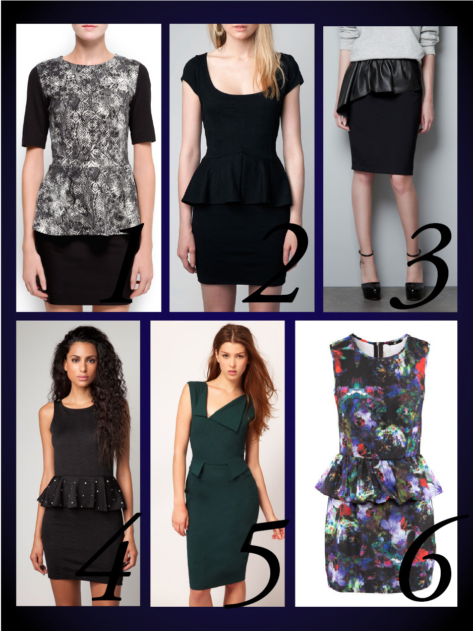 products peplum