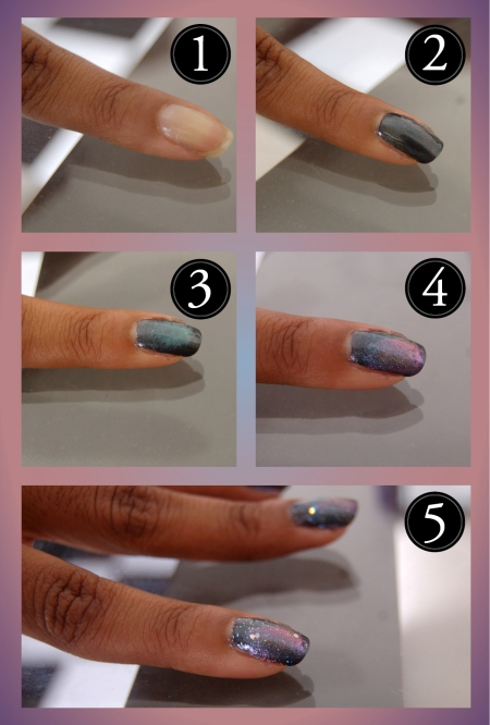 Tutorial - Galaxy nails