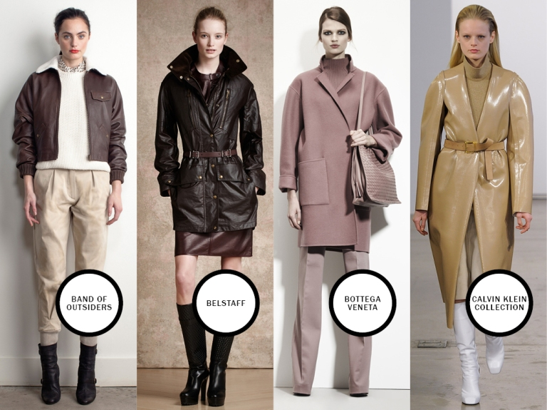 Band of Outsiders, Belstaff, Bottega Veneta, Calvin Klein Collection