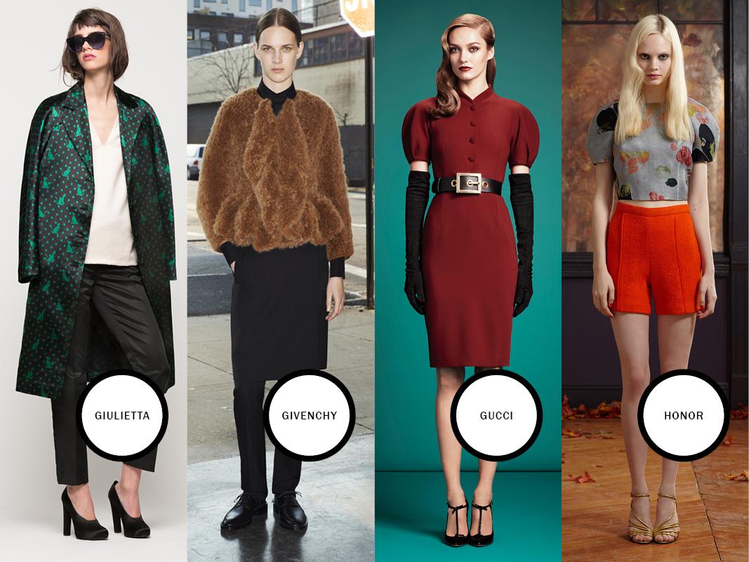 Giulietta, Givenchy, Gucci, Honor