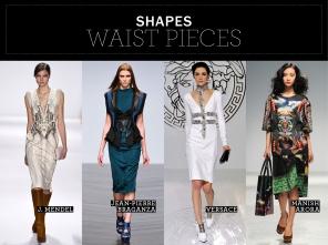 Waist Pieces
