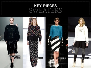 Key pieces: Sweaters
