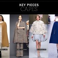 Key pieces: Capes