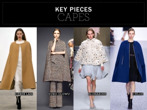 Key pieces: Capes
