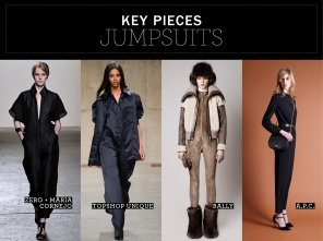 Key pieces: Jumpsuits