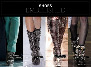 Embelished Shoes