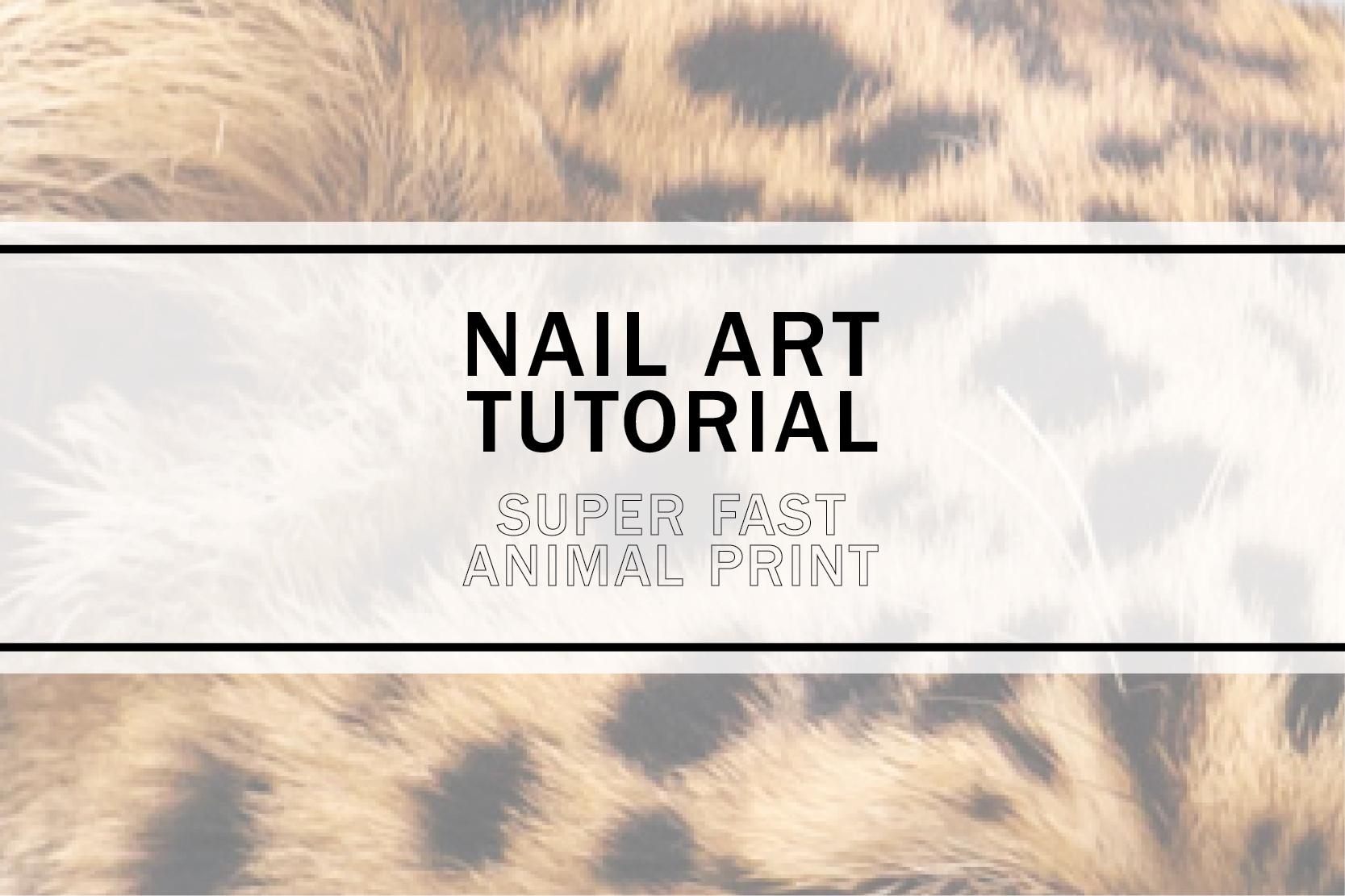 quick animal print