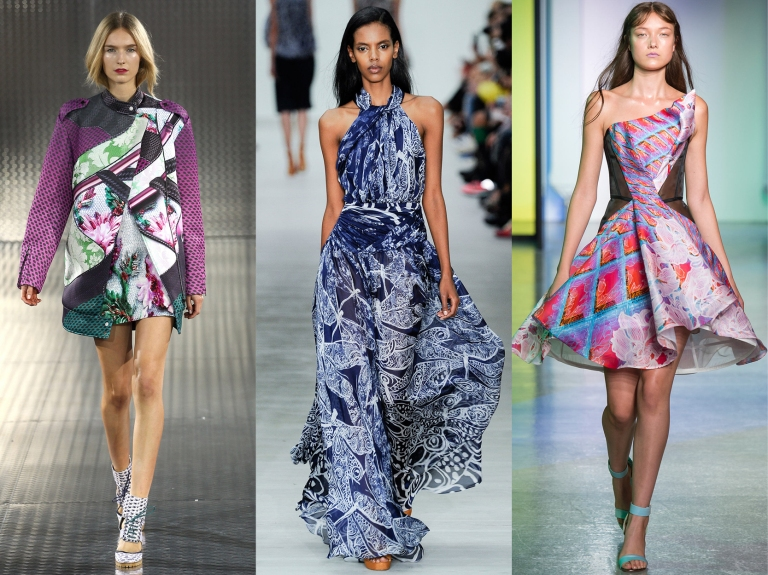 Mary Katrantzou, Matthew Williamson, Peter Pilotto